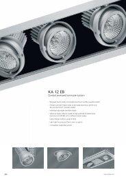 Gimbal recessed Luminaires KA 12 EB - Spittler