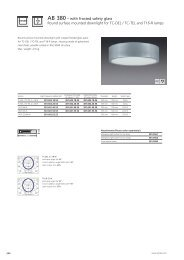 AB 380 – with frosted safety glass Round surface mounted ... - Spittler