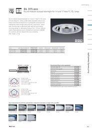 Round modular recessed downlight DL 315 eco - Spittler