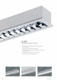 Recessed luminaire SL 650