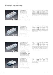 Electronic transformer / Converter - Spittler