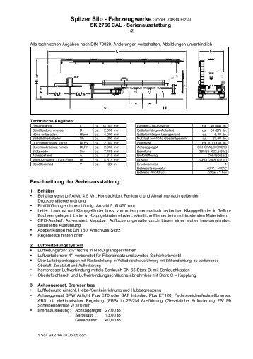 Spitzer Silo - Fahrzeugwerke GmbH, 74834 Elztal