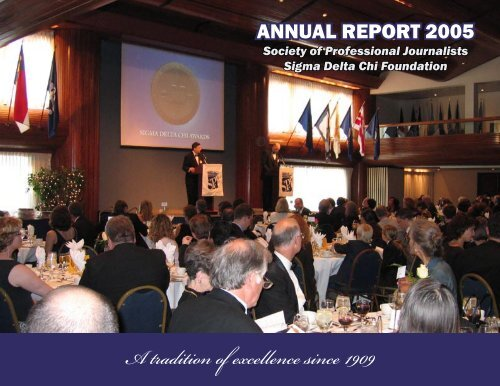 2005 Annual Report [PDF, 2.6 MB] - Society of Professional Journalists