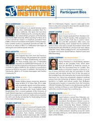 to learn more about the graduates from the June 2011 program.