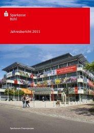 Jahresbericht 2011 - Teil 1 - Sparkasse Bühl