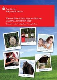 unsere Stiftungsbroschüre - Sparkasse Freyung-Grafenau