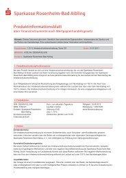 Produktinformationsblatt Sparkasse Rosenheim-Bad Aibling