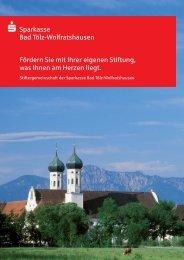 Broschüre auch zum downloaden - Sparkasse Bad Tölz ...