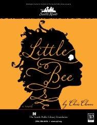 Seattle Reads 2011 program brochure - Seattle Public Library