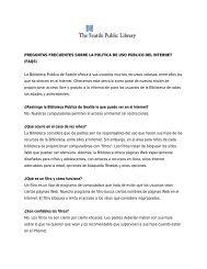 preguntas frecuentes sobre la política de uso público del internet