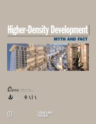 Higher-Density Development: Myth and Fact - National Multi ...