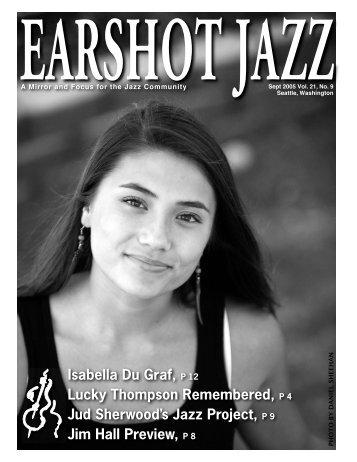 Isabella Du Graf, P 12 Lucky Thompson ... - Earshot Jazz