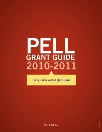 PELL GRANT GUIDE - Valencia College