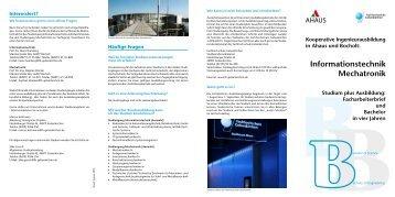 Kooperative Ingenieurausbildung in Ahaus und Bocholt