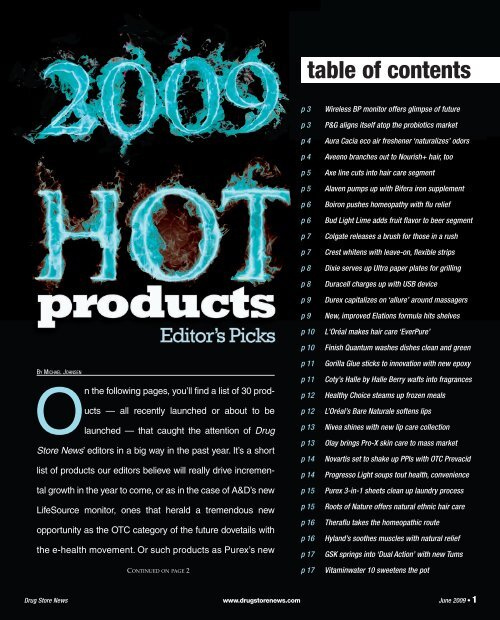2009 Hot Products - Drug Store News