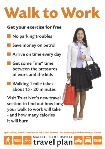 Get your exercise for free No parking troubles Save money on petrol ...