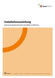 Installationsanleitung ScanMACS - Rummel AG