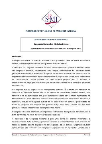 Congresso Nacional de Medicina Interna - Sociedade Portuguesa ...
