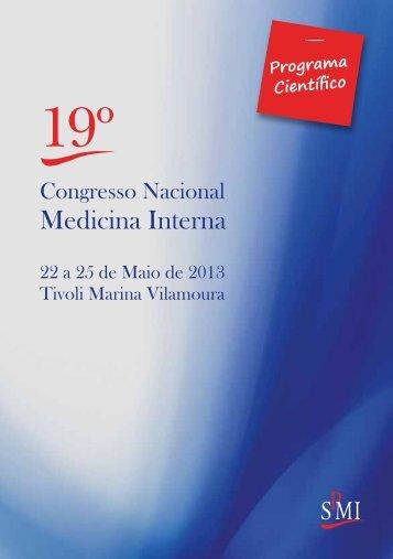 Programa - Sociedade Portuguesa de Medicina Interna