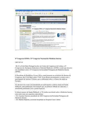 consultar - Sociedade Portuguesa de Medicina Interna