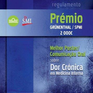 Dor Crónica - Sociedade Portuguesa de Medicina Interna