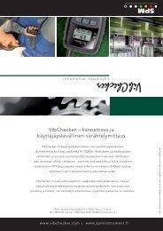 VibChecker – kannettava ja käyttäjäystävällinen ... - SPM Instrument