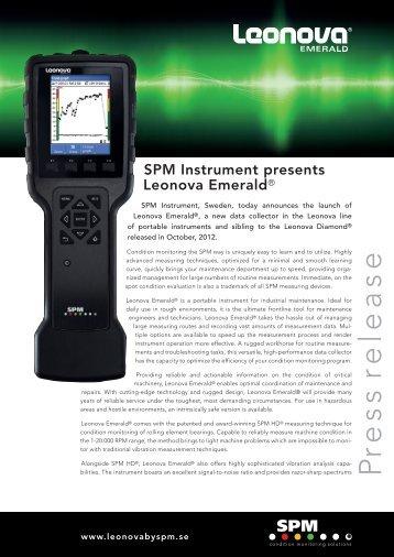 P re ss release - SPM Instrument