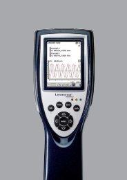 Für pro-aktive Instandhaltung - SPM Instrument