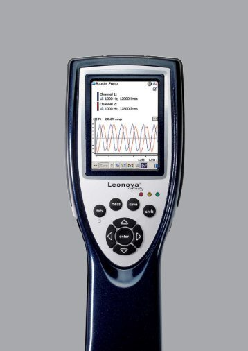 pro hospodárnou údržbu - SPM Instrument