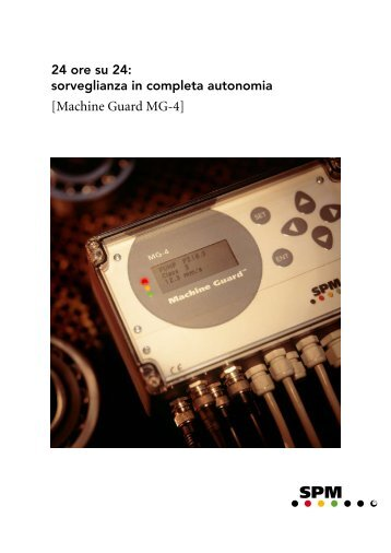 [Machine Guard MG-4] - SPM Instrument