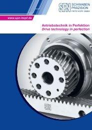 Antriebstechnik in Perfektion - SPN Schwaben Präzision Fritz Hopf ...