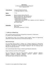 PROTOKOLL zur Sitzung der Bezirksvertretung Alsergrund am 21 ...