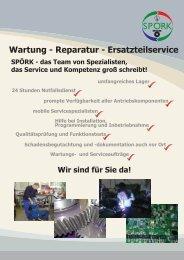 Betriebsdatenerfassung - Rückseite - Spörk Antriebssysteme GmbH