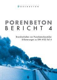 Brandverhalten von Porenbetonbauteilen - Bundesverband ...