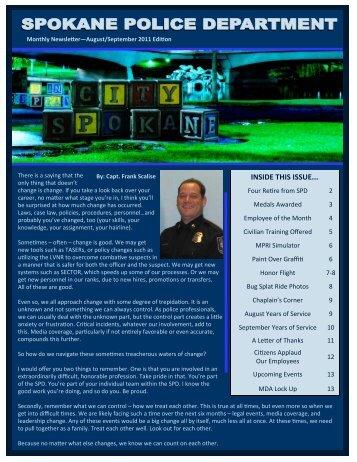 08-09 2011edition - Spokane Police Department