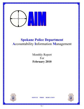 February 2010 - Spokane Police Department