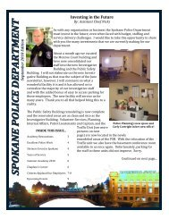 September 2010 Edition SPD Newsletter - Spokane Police ...