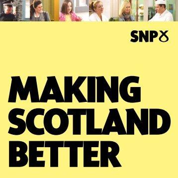 Making Scotland Better - Spokes