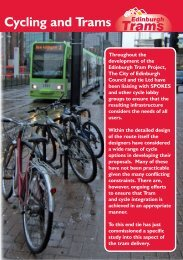 TIE Cycling and Trams Brochure - Spokes