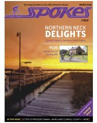 NORTHERN NECK - Spokes Magazine