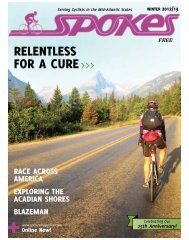 Winter 2012-13 ~ 9MB - Spokes Magazine