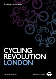 Cycling Revolution London - Greater London Authority