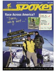 Race Across America? - Spokes Magazine