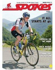 it ALL StArtS At 40 it ALL StArtS At 40 - Spokes Magazine