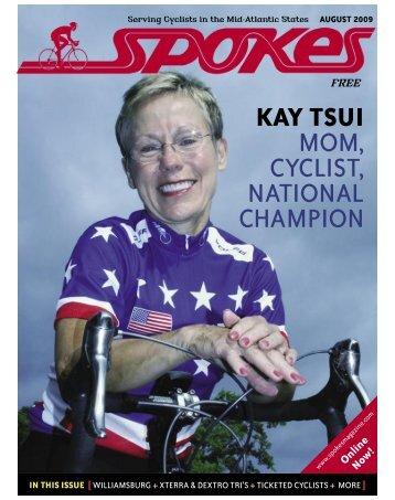 kay tsui mom, cyclist, national champion - Spokes Magazine