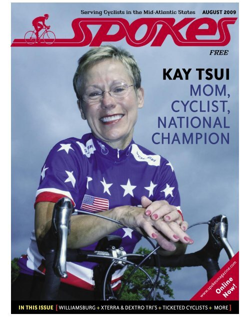 kay tsui mom, cyclist, national champion - Spokes Magazine