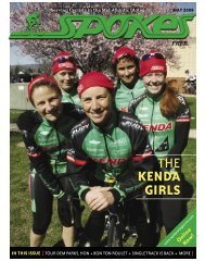 THE KENDA GIRLS THE KENDA GIRLS - Spokes Magazine