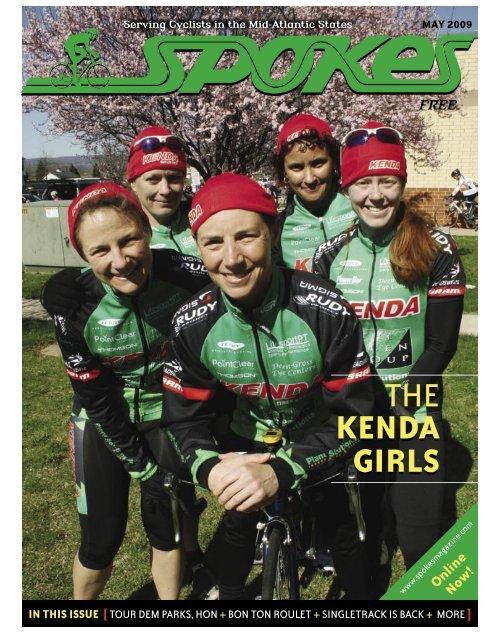 THE KENDA GIRLS THE KENDA GIRLS - Spokes Magazine