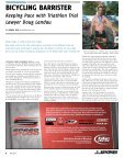 BICYClING BaRRISTER BICYClING ... - Spokes Magazine - Page 6