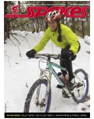 IN THIS ISSUE [KELLEY ACRES + SEA-TO-SEA ... - Spokes Magazine